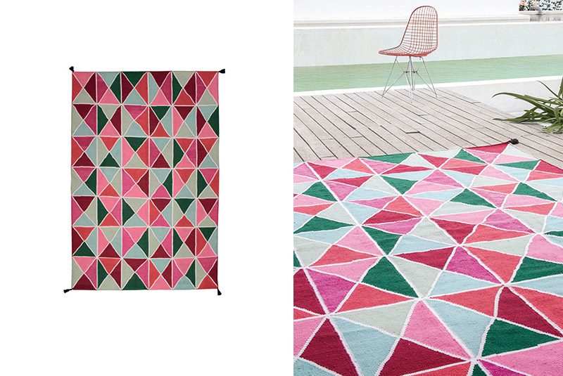 Now carpets triangulos