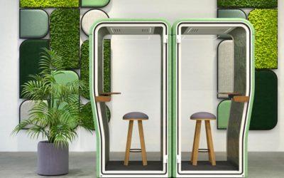 La cabine acoustique selon BuzziSpace