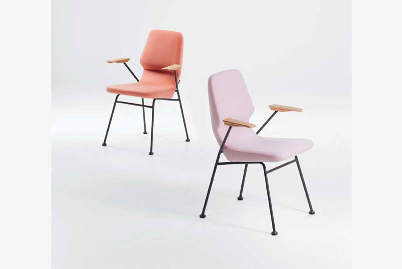 Prostoria oblique armchair